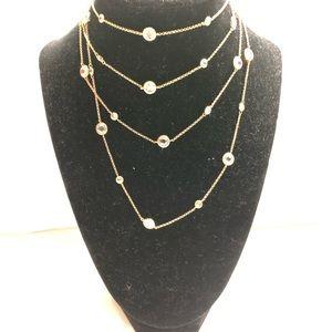 Fashion wrap around necklace